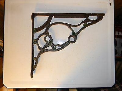 Antique Cast Iron Bracket Fencing Trim Corner Brackets Decorative