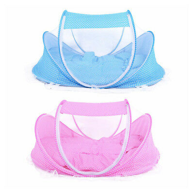 3pcs/lot 0-36 Months Baby Bed Portable Foldable Baby Crib With Netting Newborn S