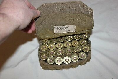 US Military Issue Shotgun Shell 12 Gage Ammo Pouch USMC MOLLE FSBE USA Coyote