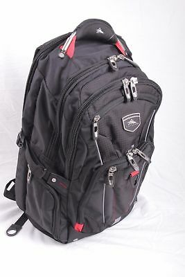 High Sierra Elite NEW with tags Backpack Original Authentic RED BLACK BLUE GRAY