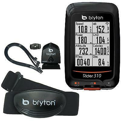 Bryton Gps Comp Rider 310T Computer W/ Cadence Heart Rate