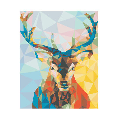 Acrylic Paint By Number Kit DIY Painting Drawing On Canvas Home Decor Deer