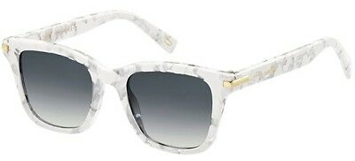 Marc Jacobs MARC 218/S WHITE MARBLE/GREY SHADED women AUTHENTIC Sunglasses