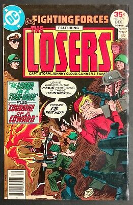 Our Fighting Forces #176 1977 Solid Fn+  Lks Better The New Losers Kubert Cover