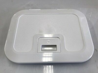 Caravan/ Boat Storage Access Hatch -Access Hatch White 385mm x 285 mm   with Lid
