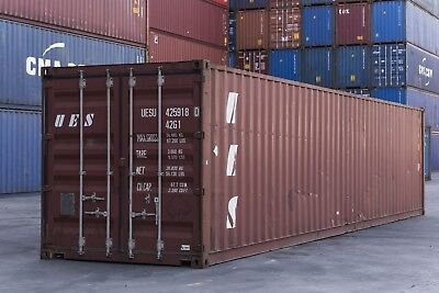 40 FT Used Shipping Container