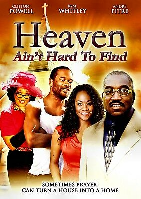 NEW DVD - HEAVEN AIN'T HARD TO FIND - Clifton Powell, Kim Whitley, Tasha Taylor,