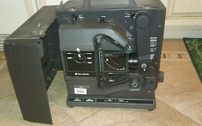 Vtg Bell & Howell Filmosound 2580A 16mm Film Reel Movie Projector Working
