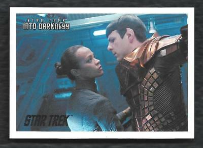 2014 Star Trek Movies  INTO DARKNESS Silver Foil #3  Serial #173 of 200