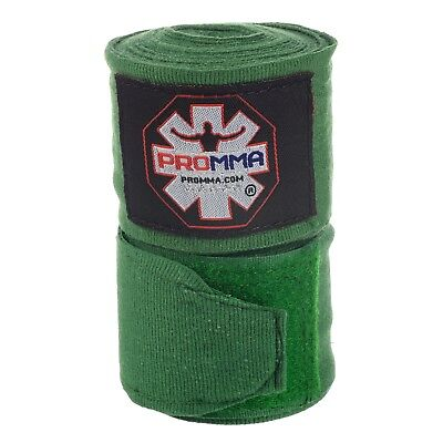 """PRO MMA 180"""" HAND WRAPS ALL COLORS - Elastic Mexican Pro Boxing Adult PAIR"""