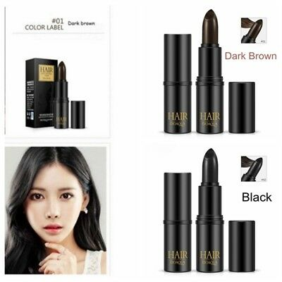 Brown Temporary Hair Dye Stick One-off Color Pen Cover Hairs DIY Styling Cream
