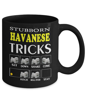HAVANESE  Dog Trick, Coffee Mug