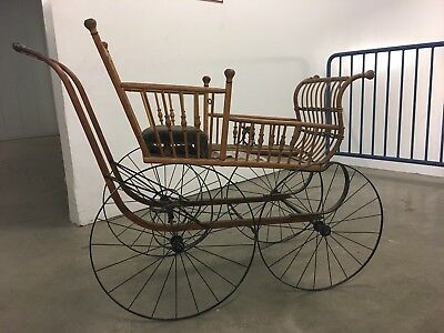 Vintage Baby Buggy - The National - Fully Restored