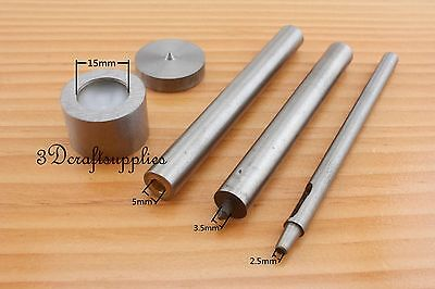 Button Snap Fastener Snap Press Stud Setting Die Installation Tool Mold 8 mm S85
