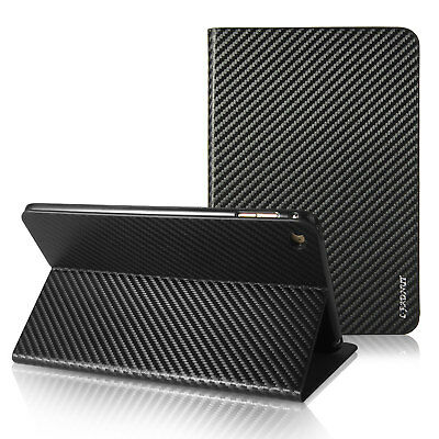 Carbon Fiber Ultra Thin Magnetic Smart Case Cover For iPad 2 Pro 9.7'' Mini Air