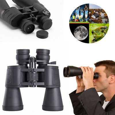 180x100 Zoom Day Night Vision Outdoor Travel Binoculars Hunting Telescope