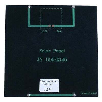 3W 12V DIY Solar Panel Charger for Battery Phone Outdoor Camping Sustainabl G3R2