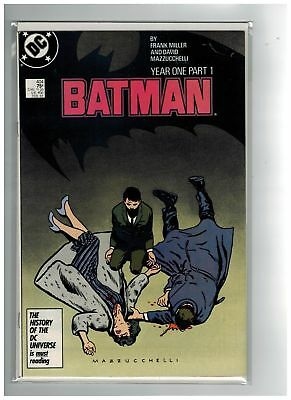 Batman (1940) # 404-407 SET (8.0/9.0-VF/VFNM) YEAR ONE (212984)