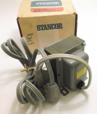 New STANCOR GSD-250 Step Down Transformer (250VA) 230V - 115V - 2.2A - Plug In