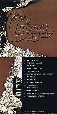 "Chicago ""X"" 1976! Digital remastered + 2 Bonustracks! Rhino-Qualität! Neue CD!"