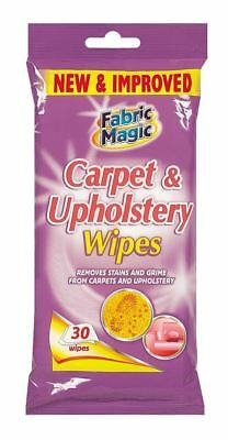 Carpet & Upholstery Cleaning Wipes 30 Pack