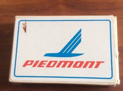 Vintage DECK OF PIEDMONT AIRLINES PLAYING CARDS