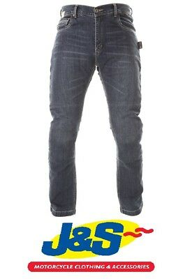 Red Route 017 Modica Kevlar Denim Motorcycle Jeans Motorbike Touring Casual J&S