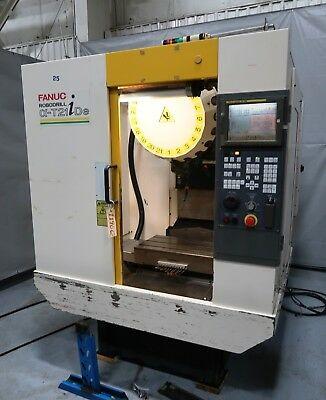 Fanuc Robodrill Alpha T21Ide 3 Axis Vertical High Speed Drill Tap Machining Cent