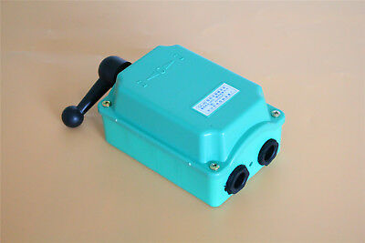 Motor Control Forward/Off/Reverse 60A Drum Switch Rain Proof Reversing