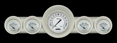 Classic White 59-60 Full-Size Chevy Gauges - Classic Instruments - CH59CW54