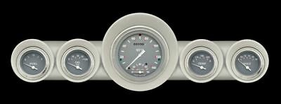 Silver Gray 59-60 Chevy Gauges w/ Speedtachular - Classic Instruments CH59SG65