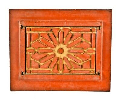 """Solid Wood """"follow"""" Board Used To Fabricate Interior Rookery Building Cast Iron"""