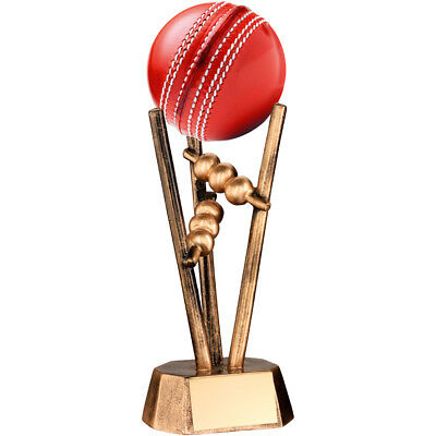 CRICKET BALL Holder Trophy 6.5in FREE Engraving