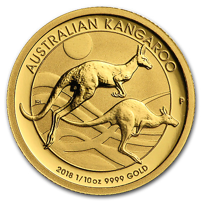 S2 $5 Coin GEM BU SKU49081 2018-P Australia Year of the Dog 1//20 oz Gold Lunar