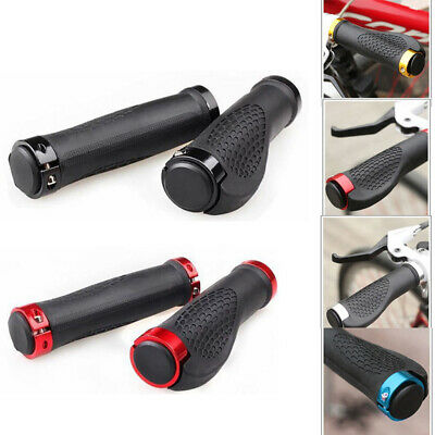 2Pcs Ergonomic MTB Road Cycling Handlebar Grips Rubber Anti-Skid Bicycle Grips