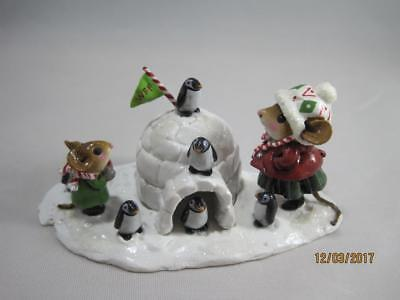 Wee Forest Folk Penguin Palace - Limited Edition 2013 Mouse Expo Event