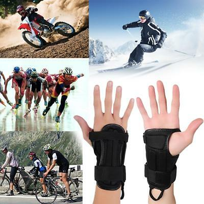 Pair of Motocross Racing Wrist Brace Hand Protector Driving Skiing Armor Guards