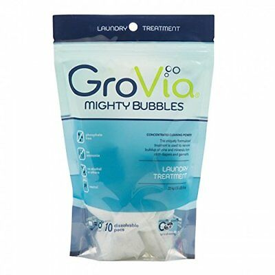 GroVia Mighty Bubbles Laundry Treatment for Cloth Diapers 10 count