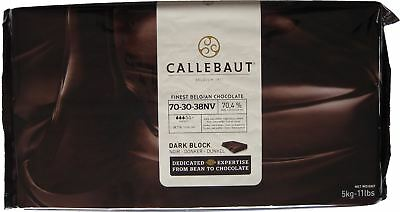 Callebaut Dark Chocolate Block 70% 11 Lbs