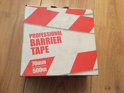 Professional barrier tape 70mmx500m