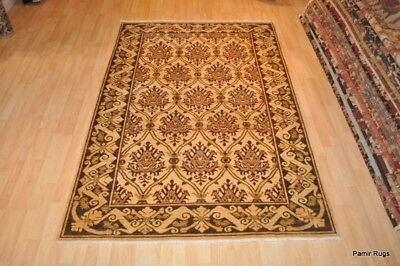 TOP QUALITY handmade Vegetable dye Rug Coral blue gold light army olive green