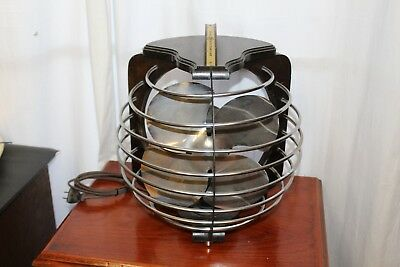 Vintage 1930s Royal Rochester Art Deco Electric Table Fan