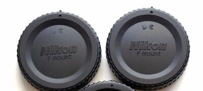 2 X Nikon BF-1B Body Caps for SLR/DSLR Cameras. U.S.Seller. Fast ship. 100% FB!!