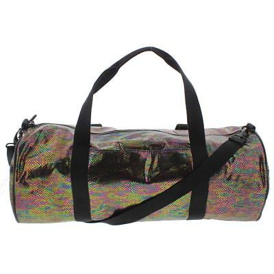 Ideology Womens Metallic Snake Print Duffel Bag Multi $69.50