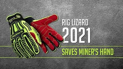 Rig Lizard 2021 Hex Armor Work Safety Gloves Protective Gear Size 11 - XXL