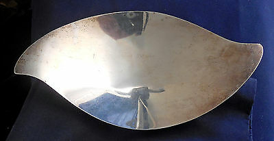 TIFFANY Co STERLING SILVER Curvilinear Form Vintage Serving DISH 23346