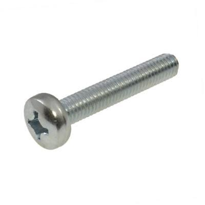 M1.6 M2 M2.5 M3 M4 M6 Metric Pan Phillips Machine Screw Zinc Plated