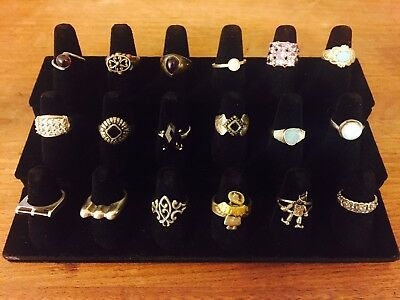 sterling silver 925 ring lot