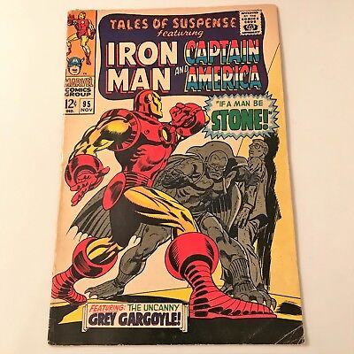 Tales of Suspense #95 (Nov 1967, Marvel)  GD