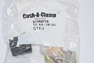 Lot of 24 NEW CUSH-A-CLAMP 014N018 FOR 1/2'' PIPE Cushioned Clamp